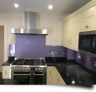 Glass around the home or business with Splashbacks of Distinction