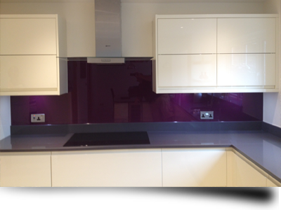 A Selection Of Glass Wall Coverings