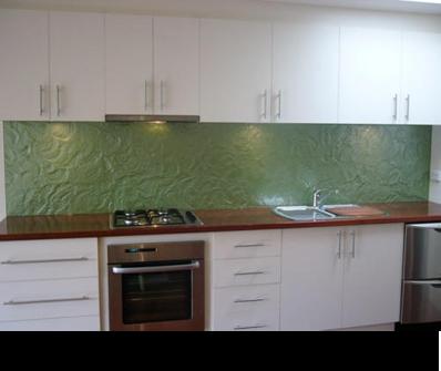 Kitchen Tiles Glass Splashback splashbacks of distinction :: textured and untextured glass