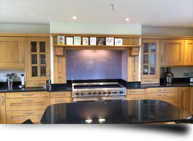 Toughened glass splashbacks for a busy lifestyle