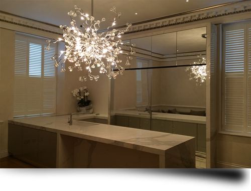 Bespoke Glass Mirrors from Splashbacks of Disinction