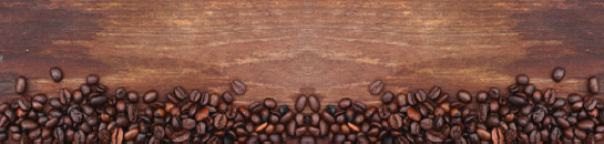 Get ready for your morning fix of coffee with this printed glass kitchen splashback depicting roasted coffee beans on a wooden background. This printed glass kitchen splashback is perfect for any breakfast bar area. Coffee anyone?