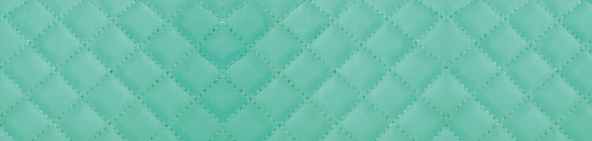 A turquoise stitch quilted leather effect printed glass kitchen splashback to add colour and warmth to your kitchen or living room. This cool looking quilted leather effect printed glass kitchen splashback will certainly compliment a light coloured kitchen.