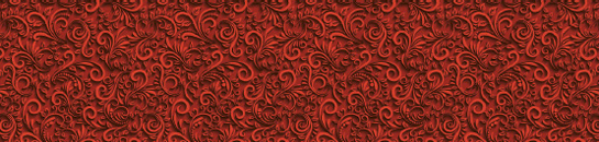 Raised red swirls on a deeper red background give a depth and warmth that you'll love in this printed glass kitchen splashback. Deep and warm, this printed glass kitchen splashback will delight in a kitchen with a subtle colour.
