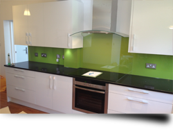 Toughened glass kitchen splashbacks from Splashbacks of Disinction