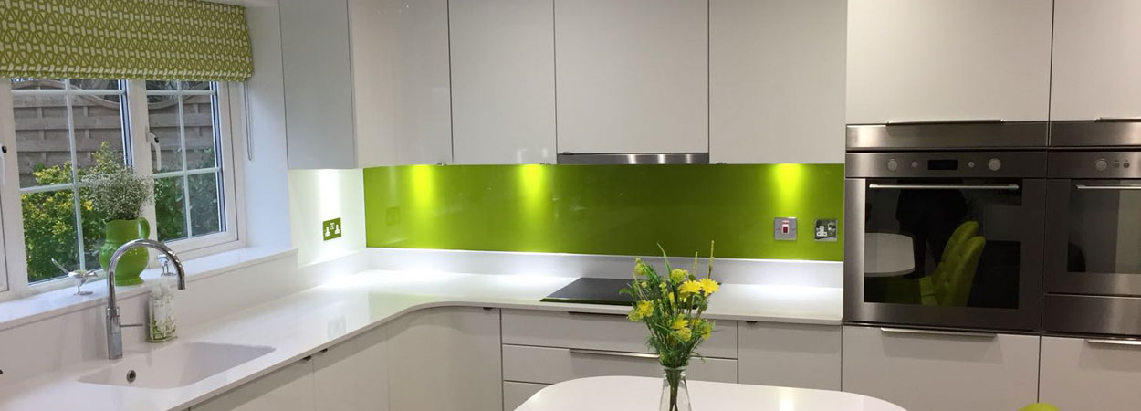 Kitchen splashback dulux tarragon from splashbacks of distinction