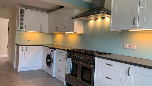 Kitchen splashbacks dulux lagoon falls
